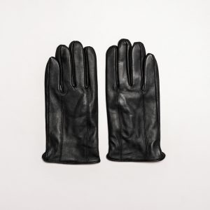 This image shows Barneys Originals Men's Real Leather Gloves in Brown or Black