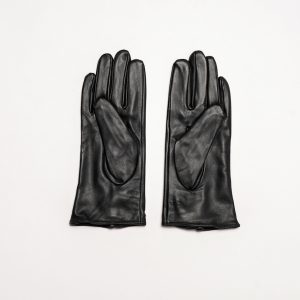 This image shows Barneys Originals This image shows Barneys Originals Women's Real Leather Gloves in Black