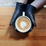 cup in hands
