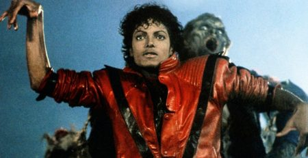 The red Michael Jackson thriller jacket and the history behind it is an interesting tale.