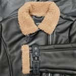 gunther faux shearling jacket zoom